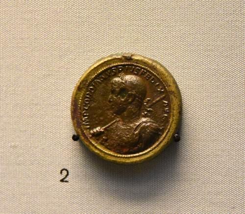 Medallón bimetálico del emperador Gordiano III