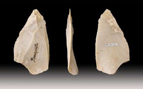 Herramientas de Neanderthal - punto de Levallois