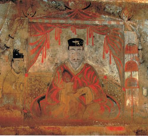 Tong Shou, Mural de la tumba de Goguryeo