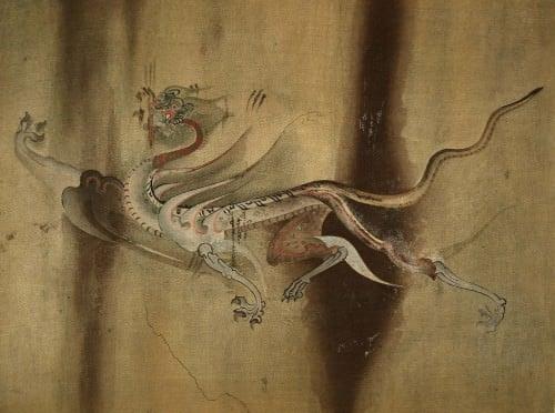 Tigre blanco, Mural de la tumba de Goguryeo