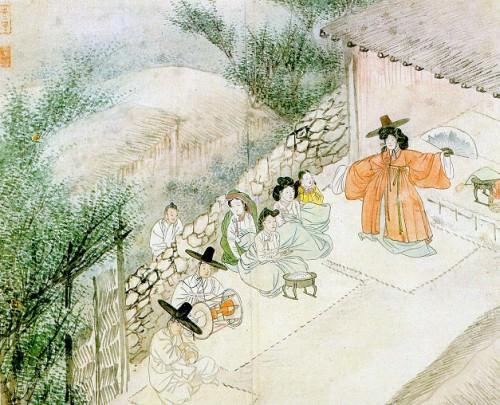 Korean Mudang or Female Shaman