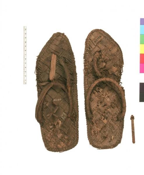 Sandalias de Papiro
