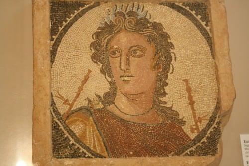 Mosaico romano di Euterpe