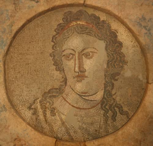 Mosaico romano di Mnemosyne