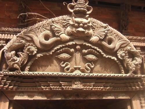 Kirtimukha, Nepal