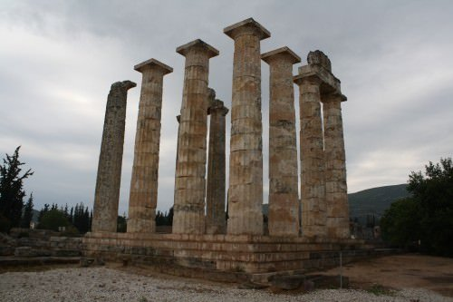 Temple of Zeus, Nemea, Greece