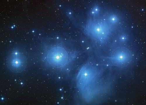 Pleiadi Constellation