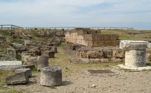 Plataforma del templo, Vulci