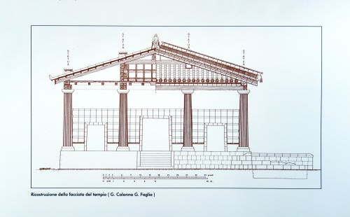 Etruscan Temple Reconstruction