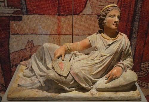 Retrato funerario etrusco