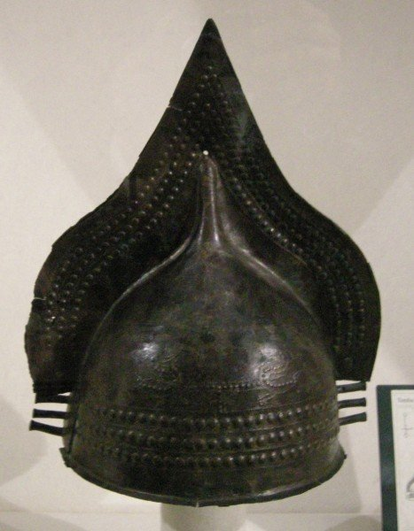 Casco de bronce Villanovan