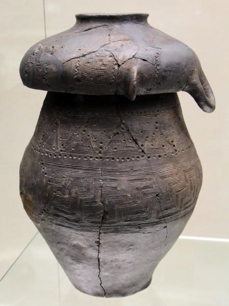 Urna funeraria bicónica de Villanovan