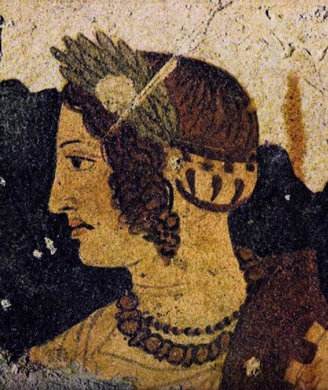 Velcha, tumba de Orcus, Tarquinia