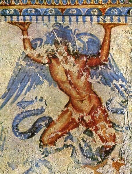 Typhon, Tarquinia