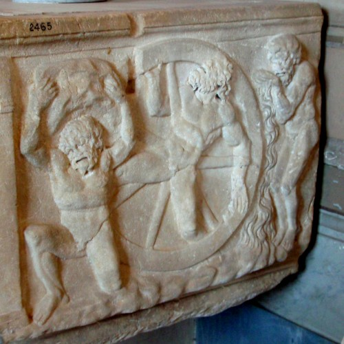 Sisyphus, Ixion and Tantalus