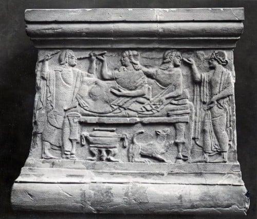 Etruscan Banquet Scene