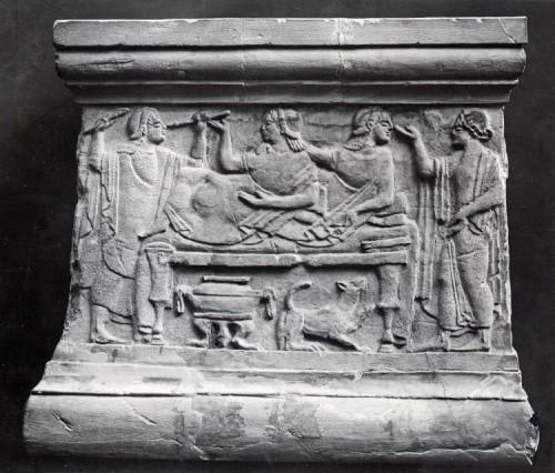 Cena banquete etrusca