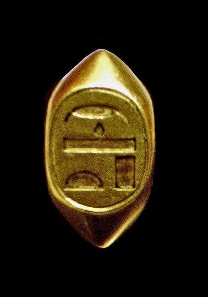 Anello di Ahhotep
