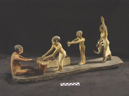 Brewing cerveja no antigo Egito