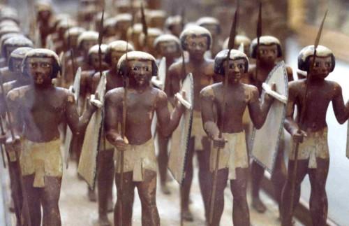 Guerreiros egípcios