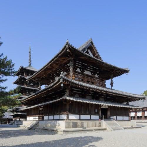 Sala principal, Horyuji