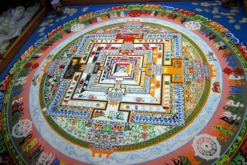 Tibetan Sand Mandalas (Article) - Ancient History Encyclopedia