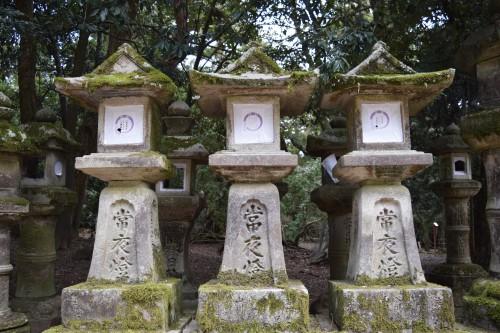 Lanternas de pedra, Santuário de Kasuga