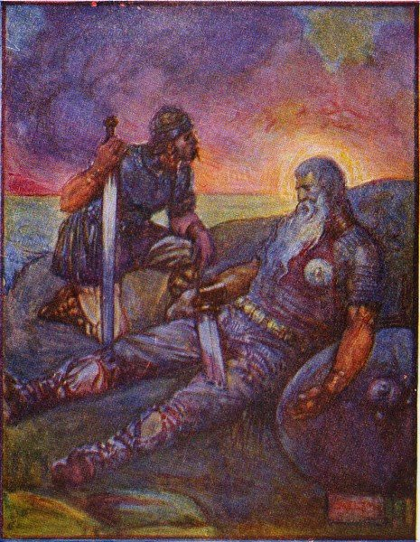 Wiglaf & Beowulf