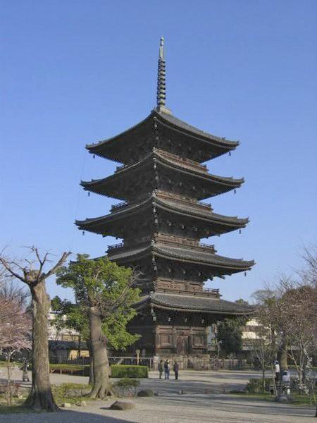 To-ji Pagoda, Kyoto