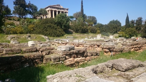 Agora of Athens and the Temple of Hephaestus
