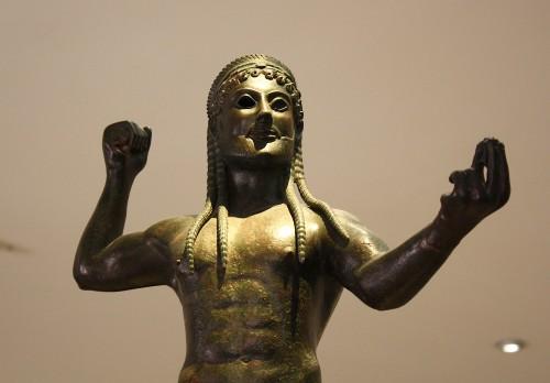 Zeus de bronze, Tarentum