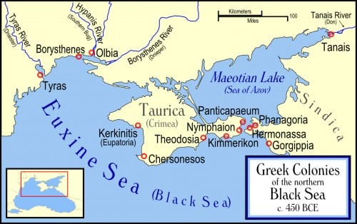 Greek Colonies of the Northern Black Sea