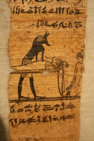 Book of the Dead Detail