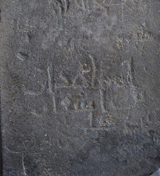 Graffiti árabe en el templo de Garni