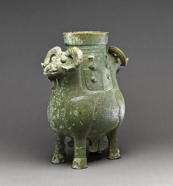 Shang Dynasty Bronze Zun