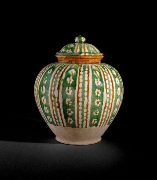 Tang Three-colour Glaze Jar