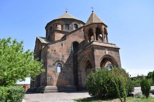 Saint Hripsime Church Façade
