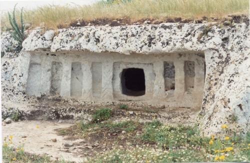 Prince's Tomb (Cava Lazzaro, Ragusa, Sicily)