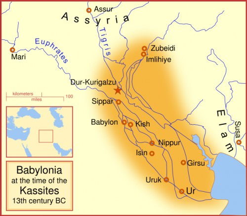 Babylon at the time of the Kassites