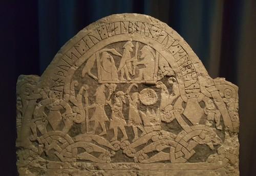 Viking Rune Stone (Sanda, Sweden)