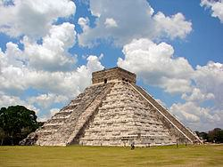 The Temple of Kukulcan at Chichen Itza
