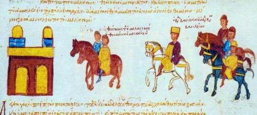 Basil II in Triumph