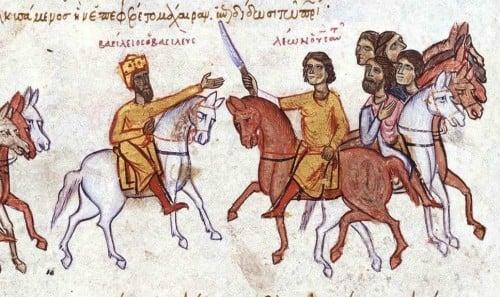 Basil I & Leo VI se enfrentan