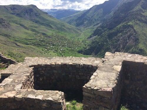 Fortaleza Smbataberd de Armenia