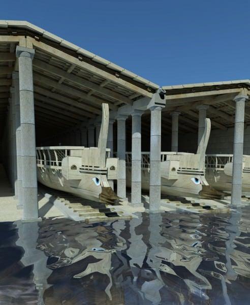 Embarcações Gregas Trirreme