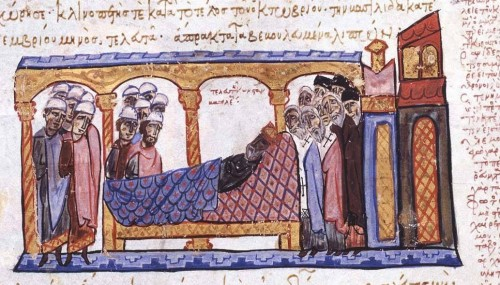 Dying Constantine VII