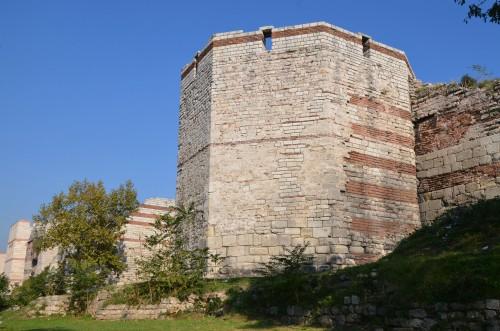 Torre, Muros de Teodosio
