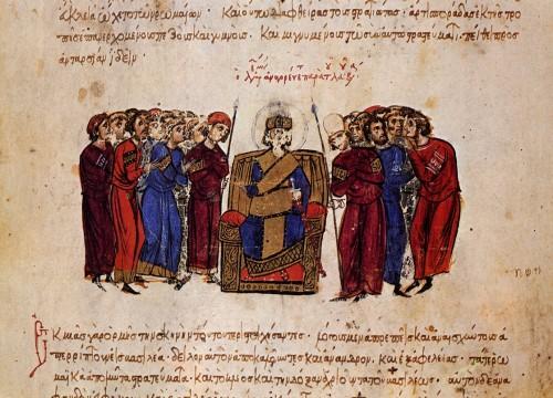 Proclamación de Leo V el armenio