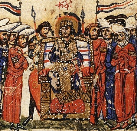 Coronation of Theophilos