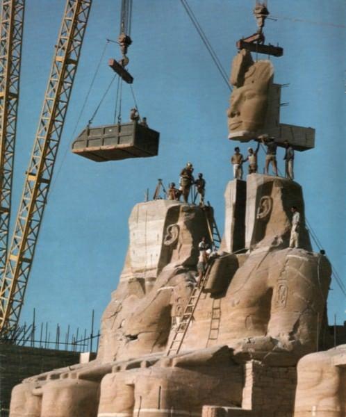 Abu Simbel - Trabajo en progreso